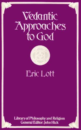 (Image ID 33) Vedantic Approaches to God Book Cover