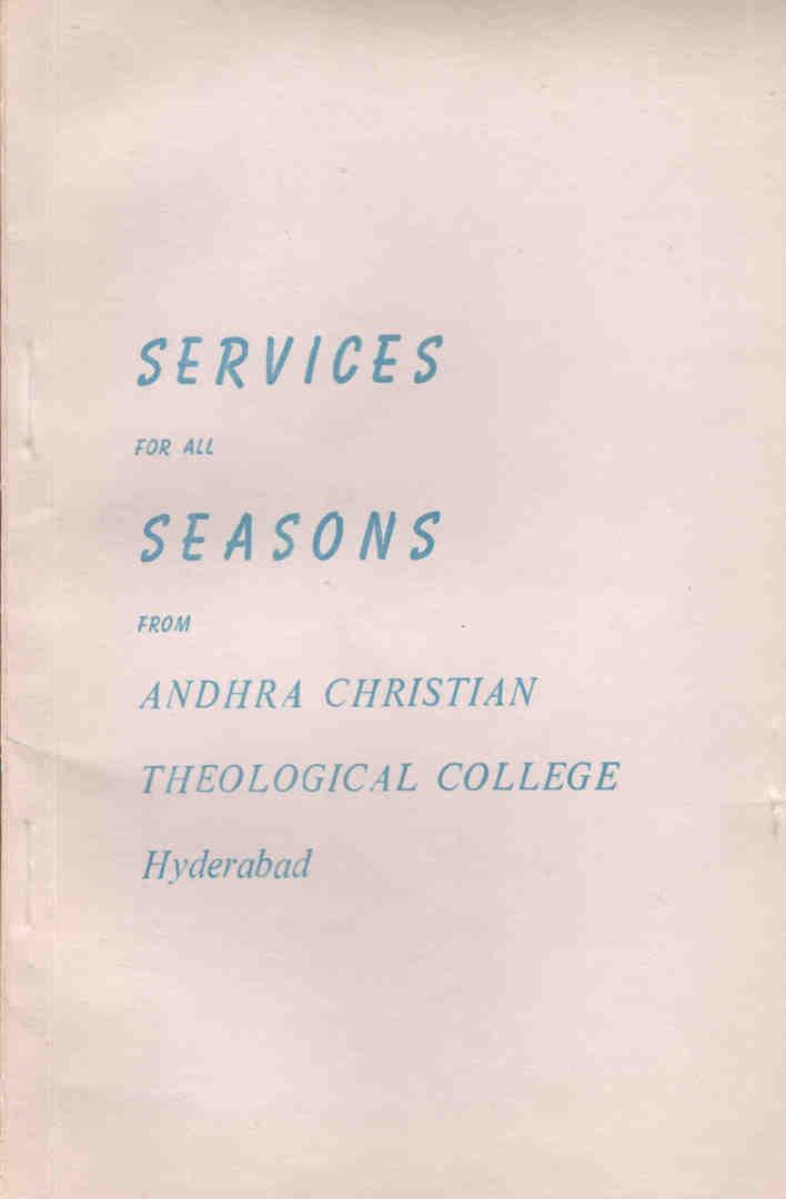 (Image ID 35) Services for all Seasons Book Cover