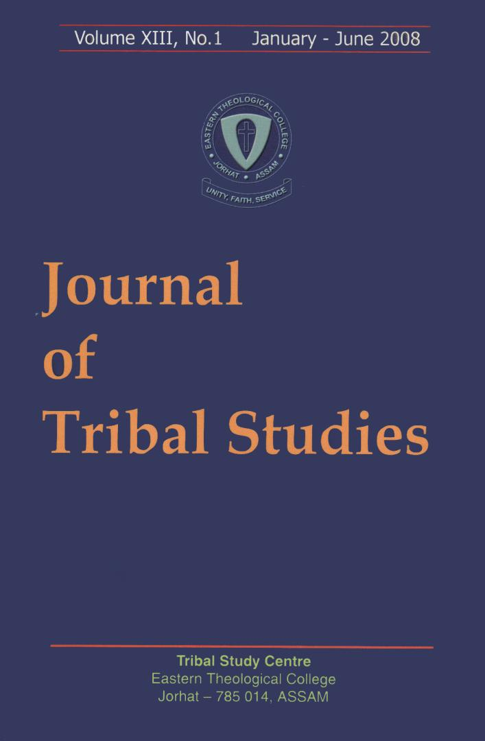(Image ID 56) Journal of Tribal Studies Book Cover