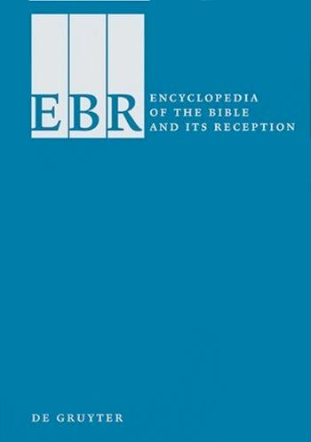 (Image ID 58) Encyclopedia of the Bible & its Reception Cover