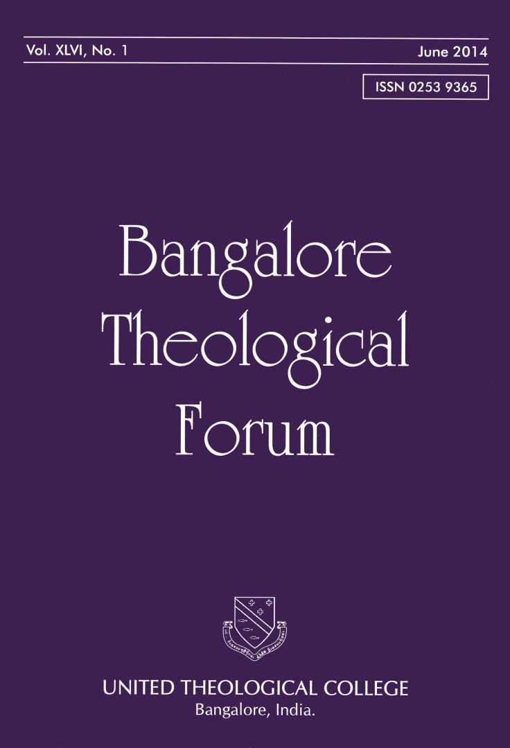 (Image ID 601) Bangalore Theological Forum 2014 Cover